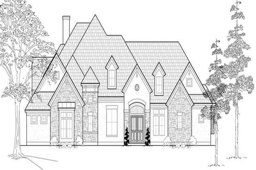 Main image for house plan # 19163