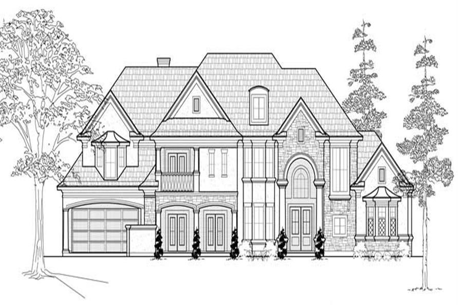 Main image for house plan # 19278