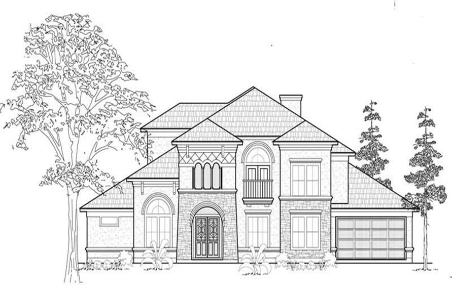 Main image for house plan # 19266