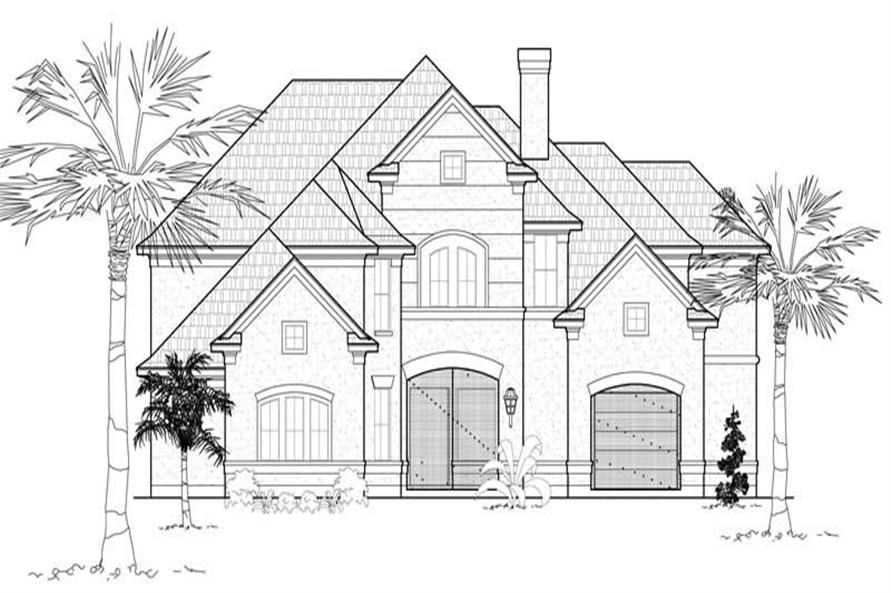 Main image for house plan # 19196
