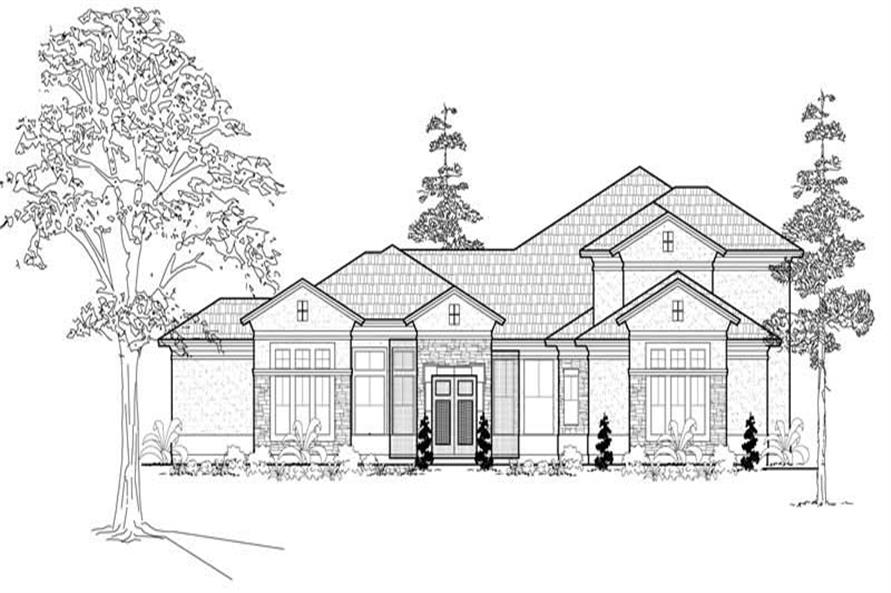 Main image for house plan # 19261