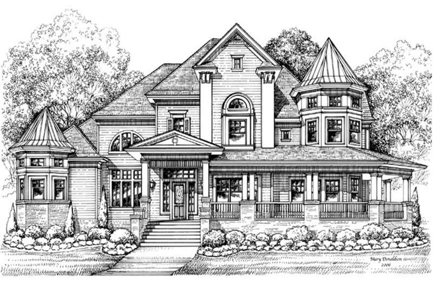 Main image for house plan # 19255