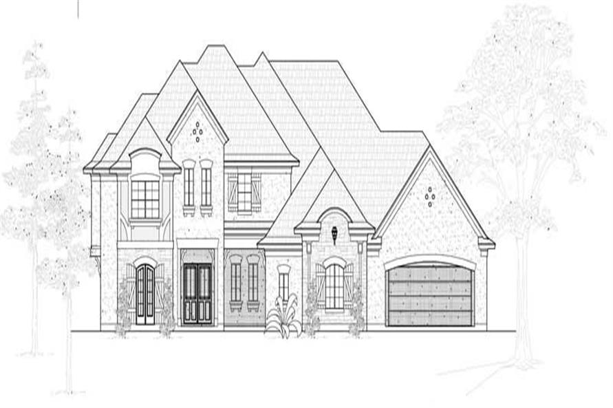 Main image for house plan # 19250
