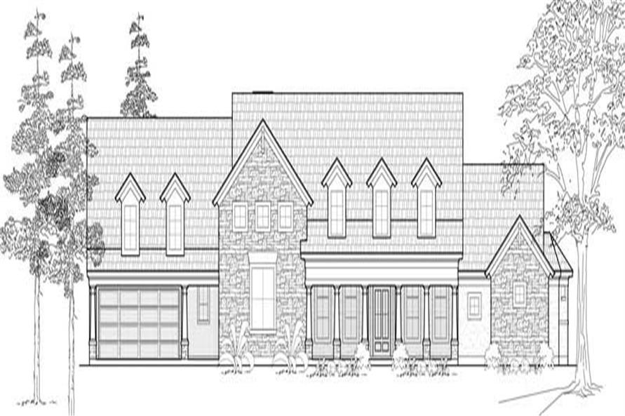 Main image for house plan # 19093