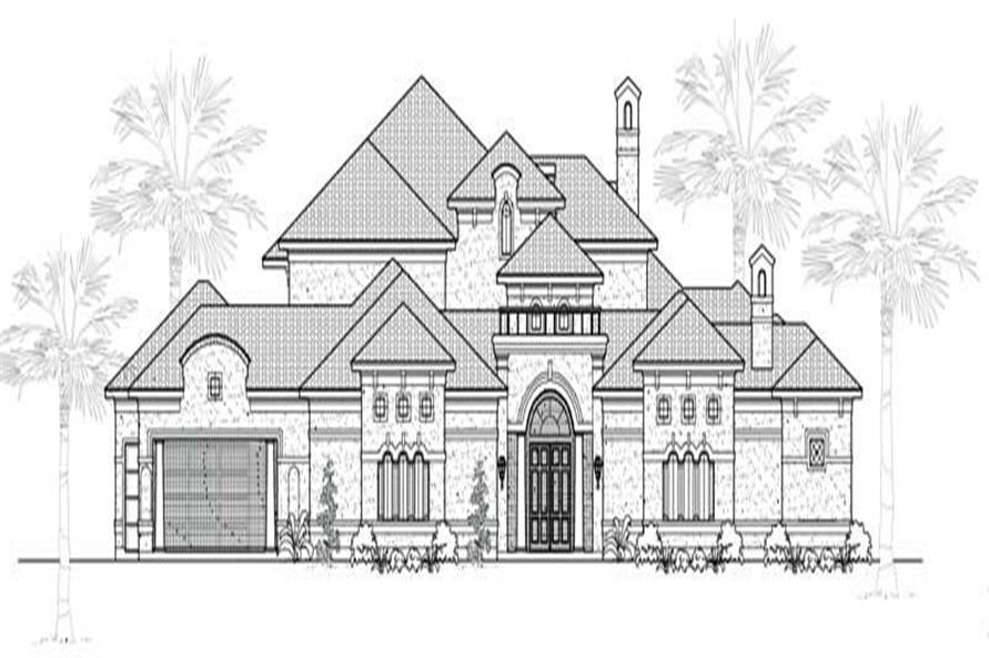 Main image for house plan # 19268