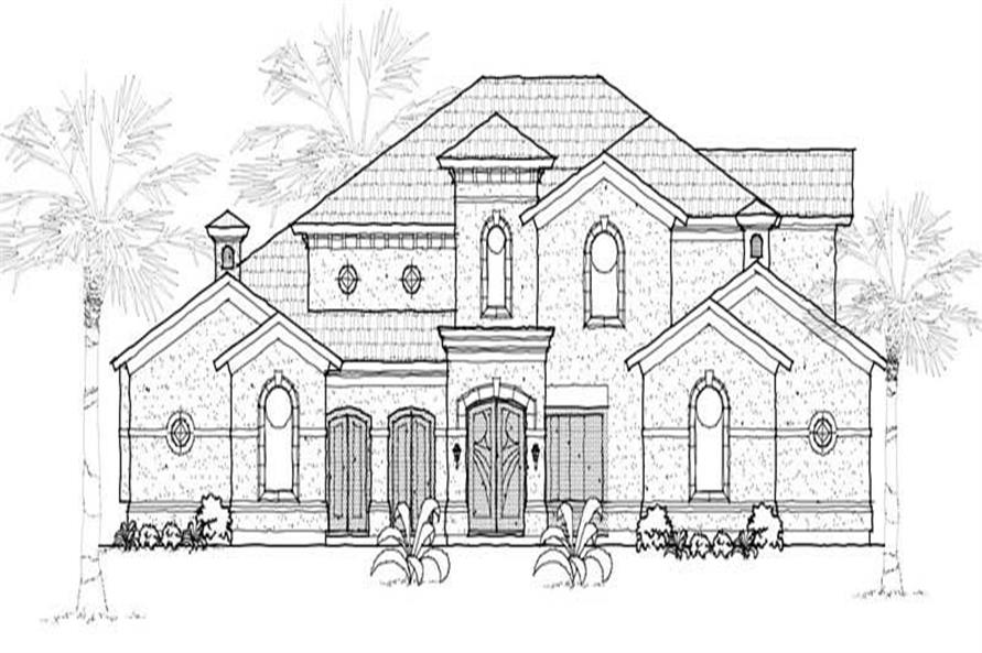 Main image for house plan # 19277