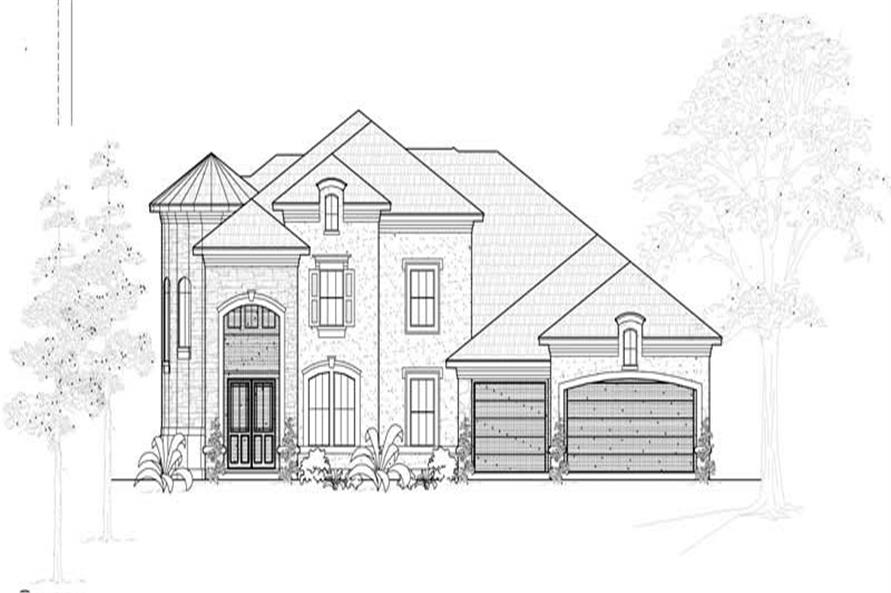 Main image for house plan # 19258