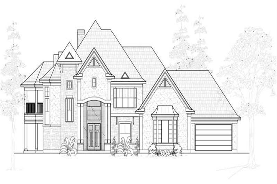 Main image for house plan # 19257