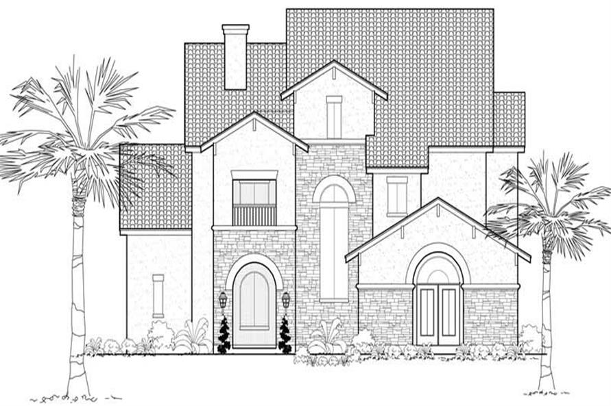 Main image for house plan # 19094