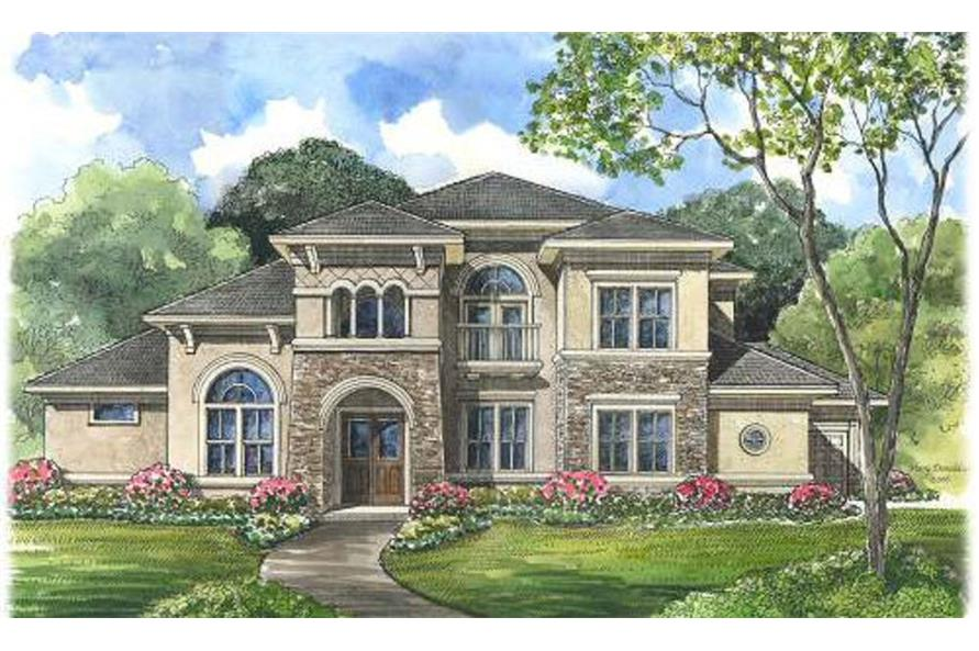 Beautiful image for house plan # 134-1087