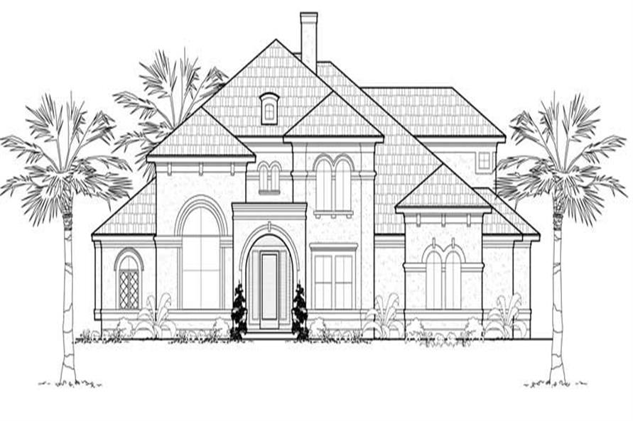 Main image for house plan # 19259