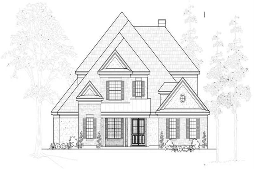 Main image for house plan # 19242