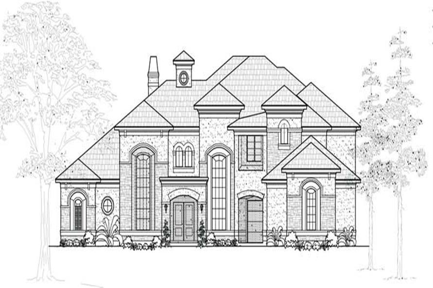 Main image for house plan # 19283
