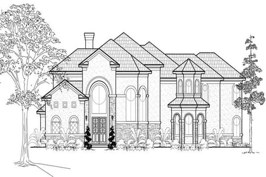Main image for house plan # 19271