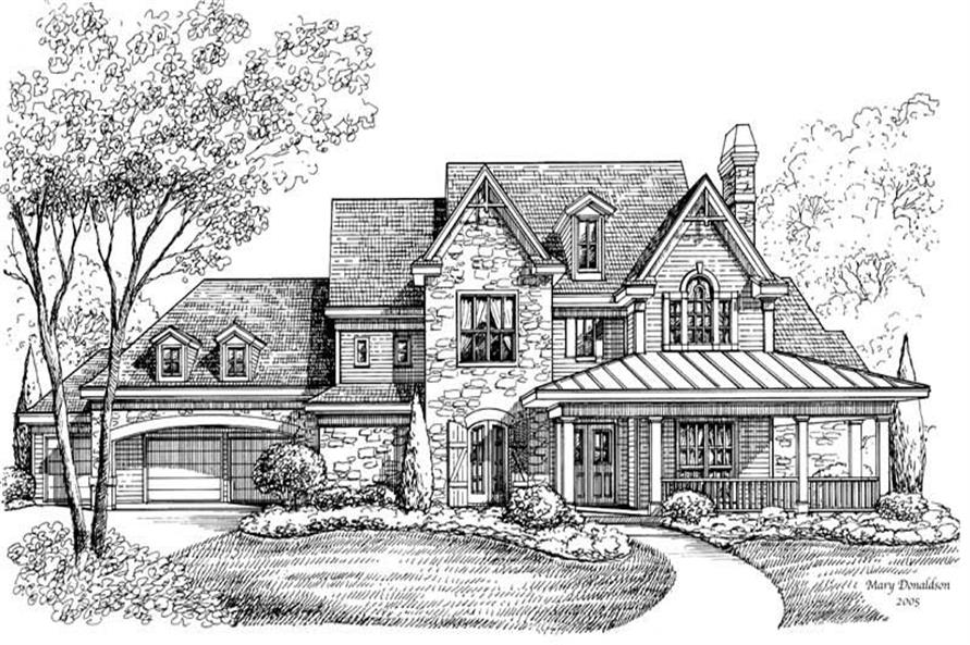 Main image for house plan # 19275