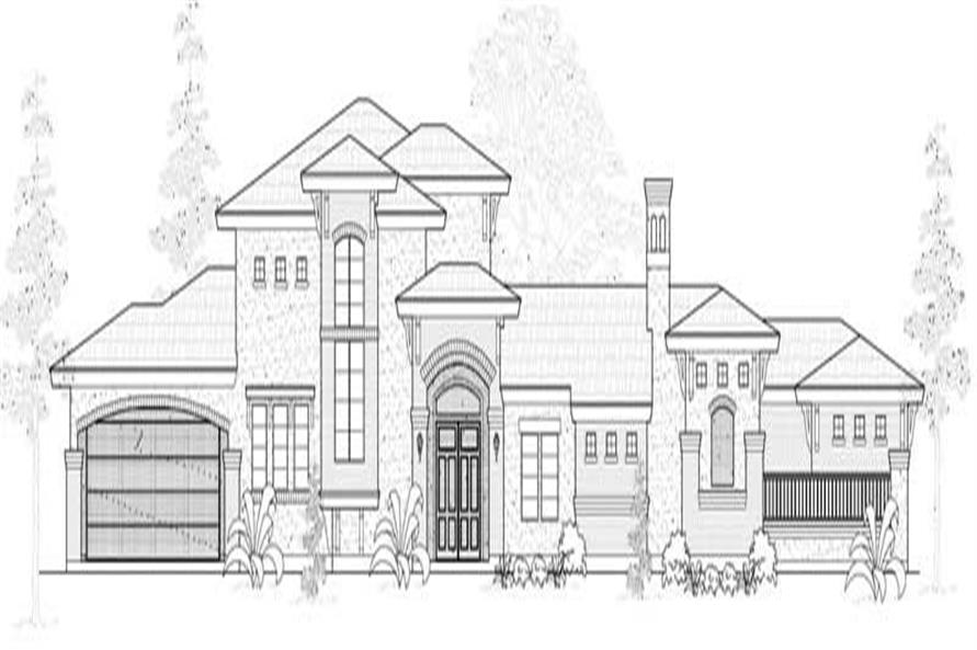Main image for house plan # 19071