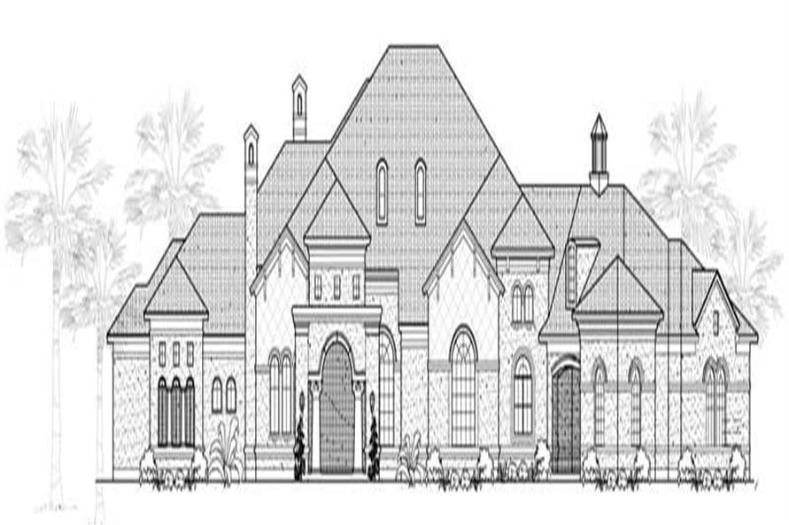 Main image for house plan # 19045