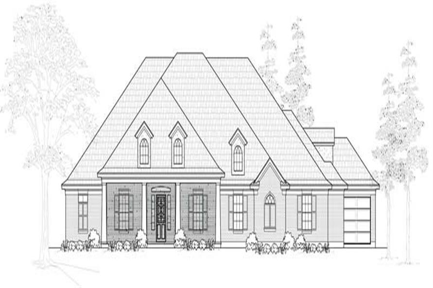 Main image for house plan # 19000
