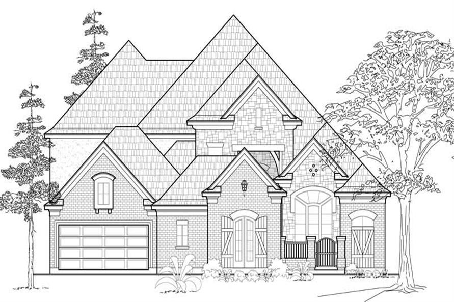 Main image for house plan # 19122