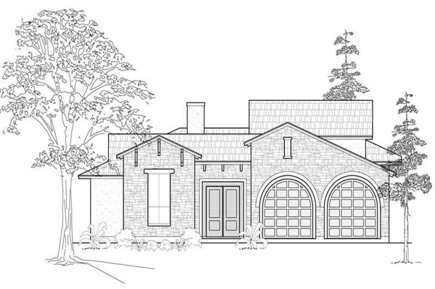 Main image for house plan # 18991