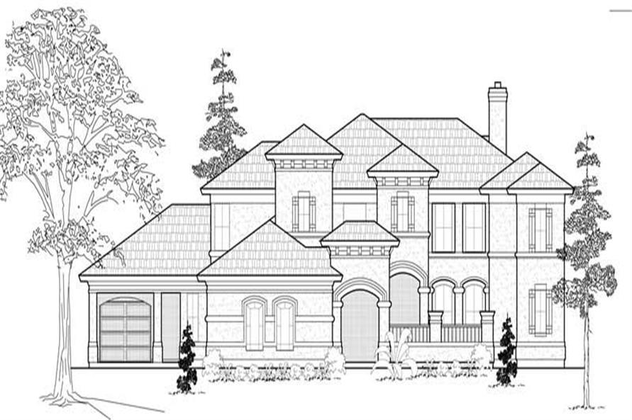Main image for house plan # 19177