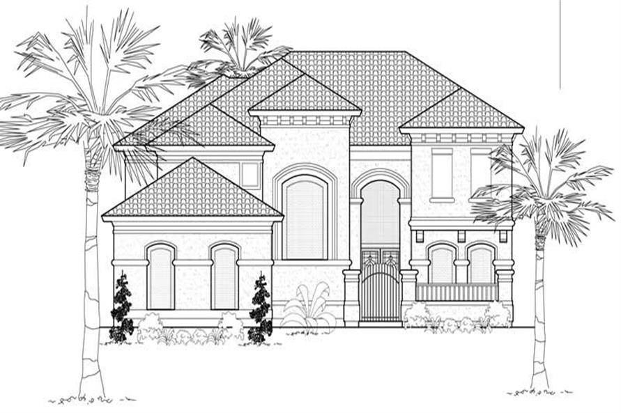 Main image for house plan # 19175