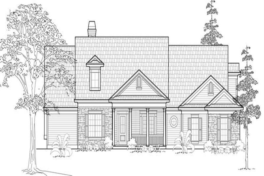 Main image for house plan # 18998