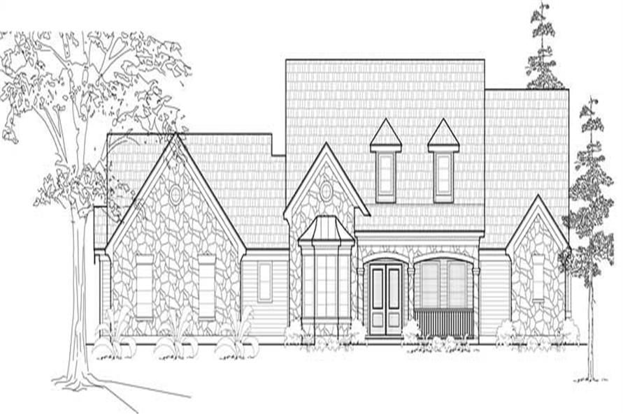 Main image for house plan # 18994