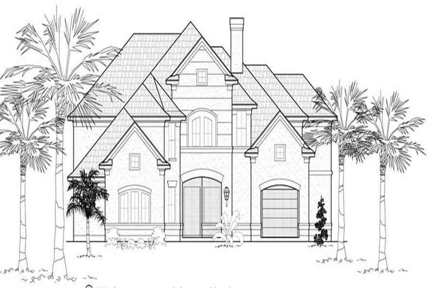 Main image for house plan # 19199