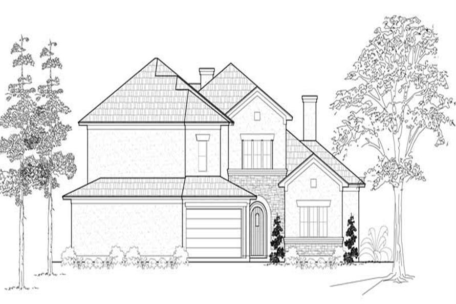 Main image for house plan # 19180