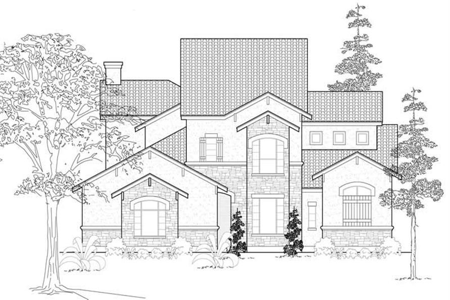 Main image for house plan # 19166
