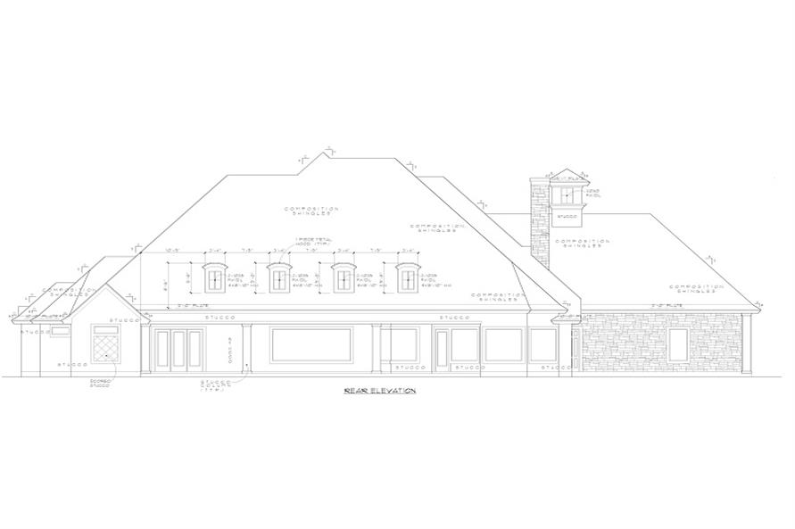 rear elevation of 134-1139