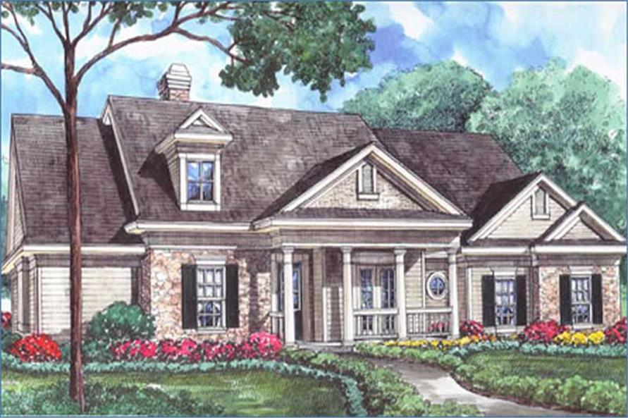 Main image for house plan # 8450