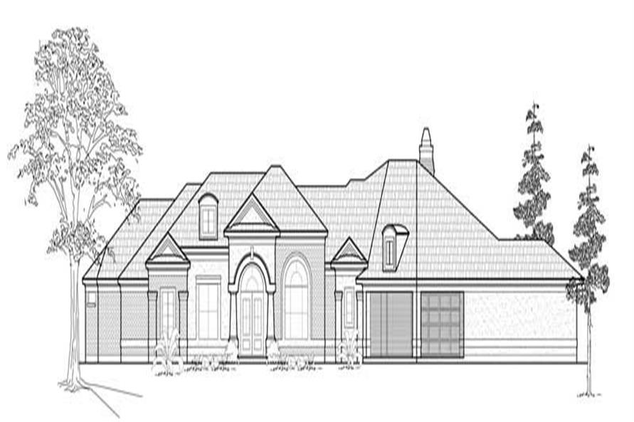 Main image for house plan # 8575
