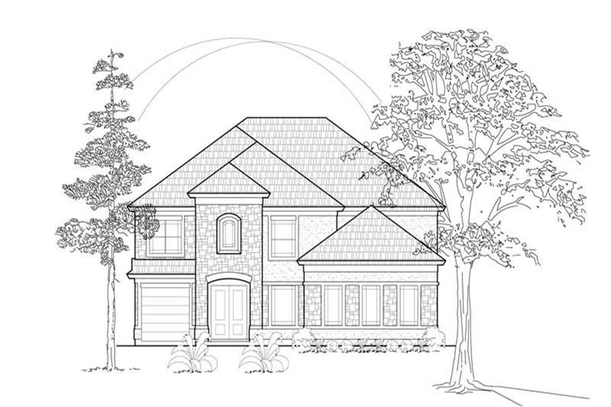 Main image for house plan # 8591
