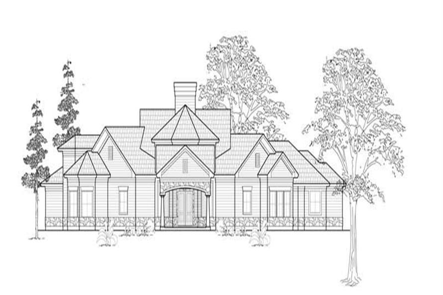 Main image for house plan # 8588