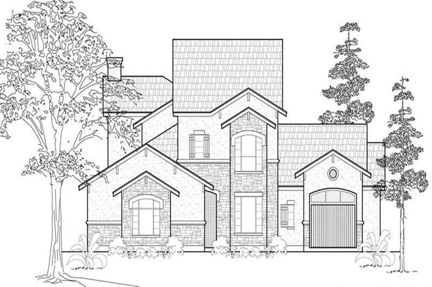 Main image for house plan # 8542