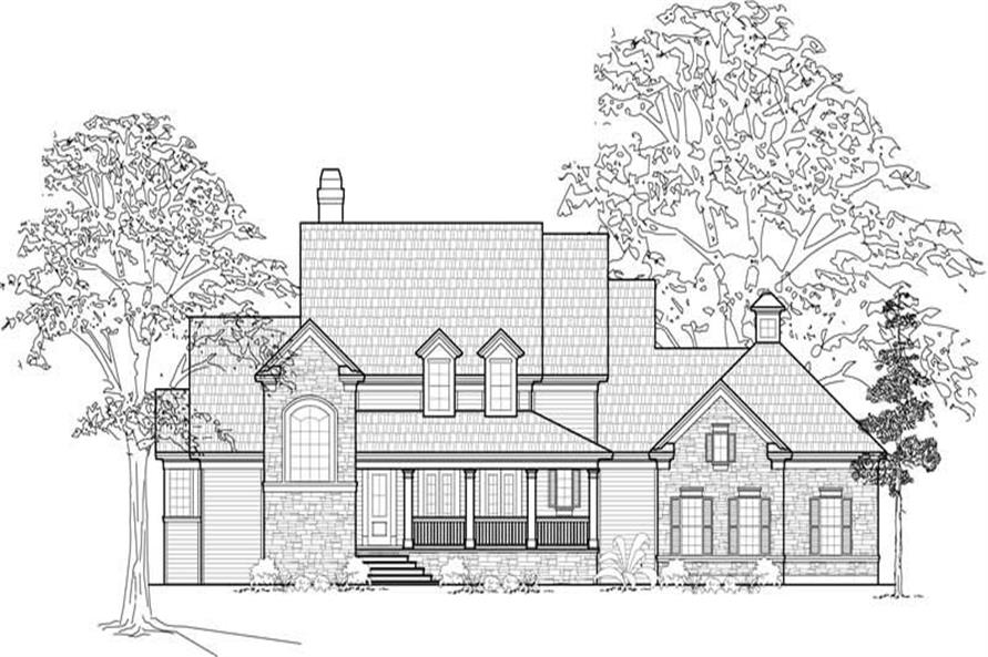 Main image for house plan # 8552