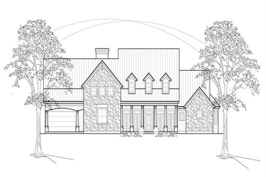 Main image for house plan # 8571