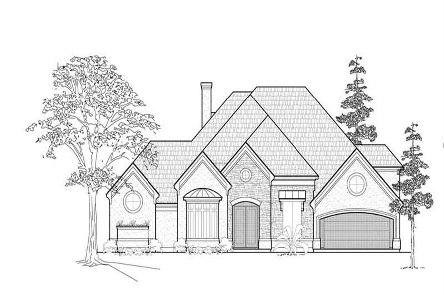 Main image for house plan # 8578
