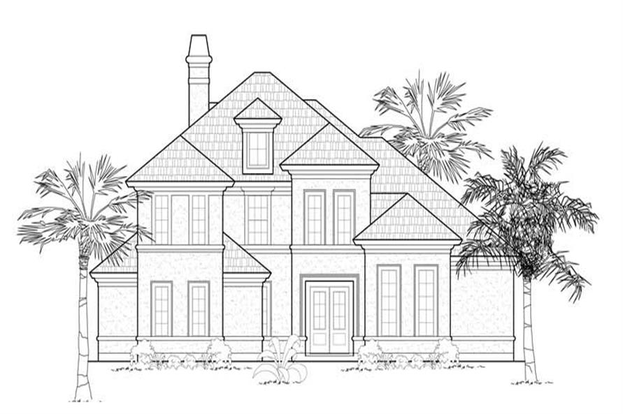 Main image for house plan # 8573