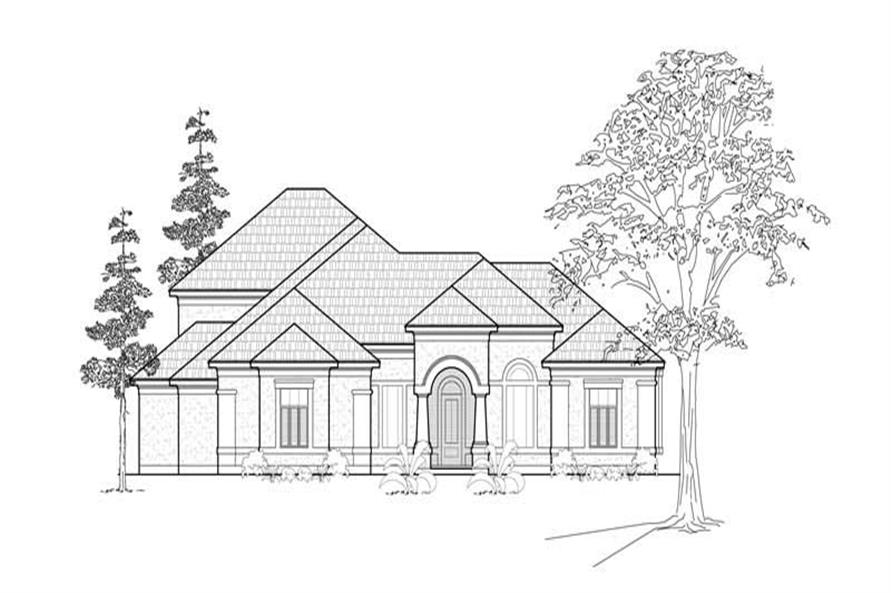 Main image for house plan # 8485