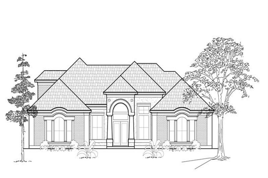 Main image for house plan # 8576