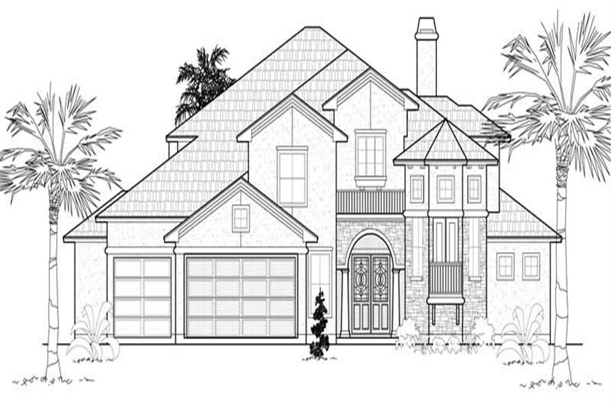 Main image for house plan # 8641