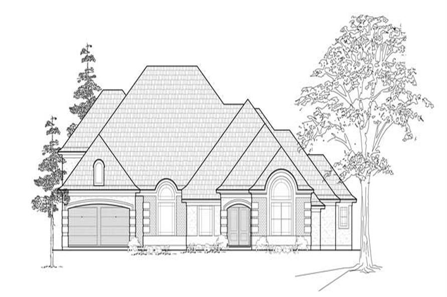 Main image for house plan # 8488