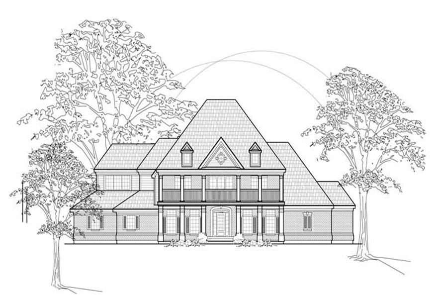 Main image for house plan # 8686