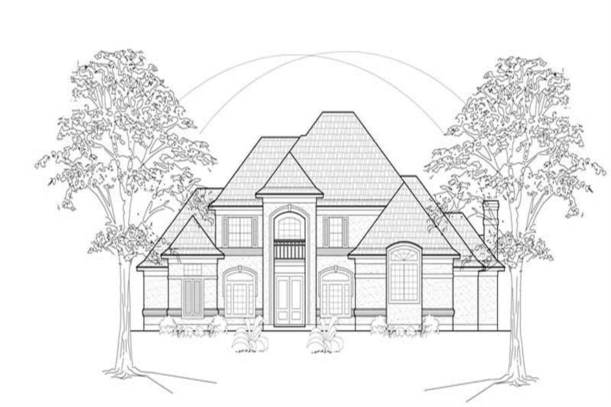 Main image for house plan # 8617