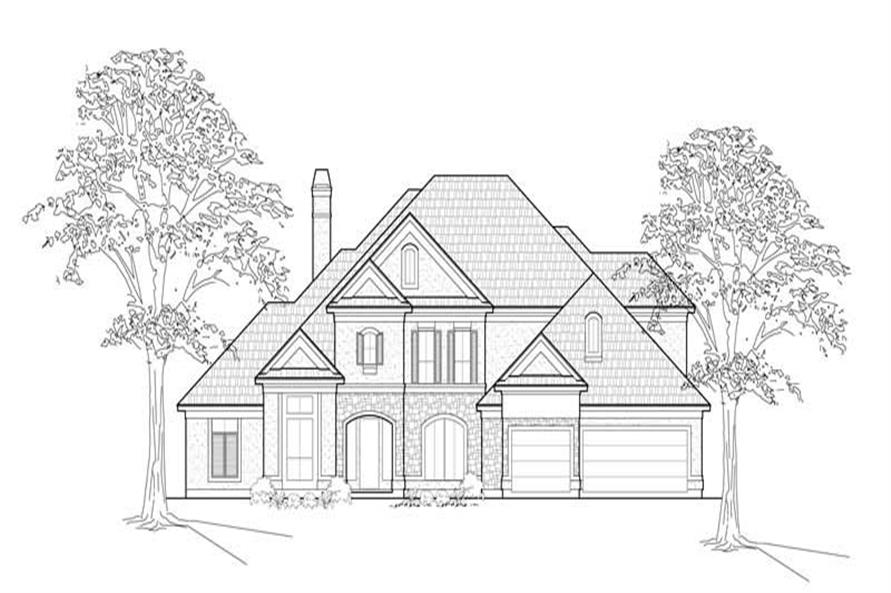 Main image for house plan # 8619