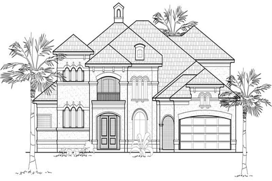 Main image for house plan # 8632