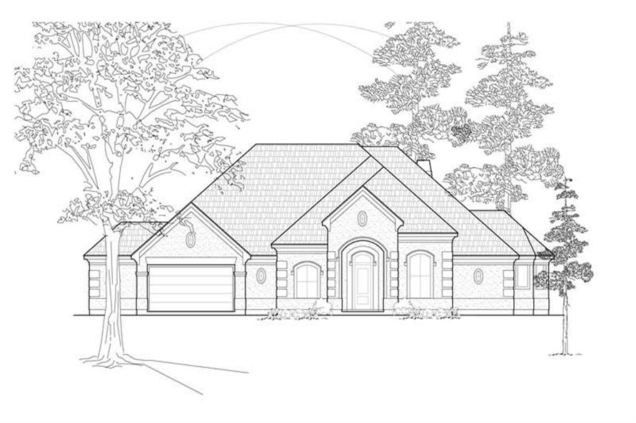 Main image for house plan # 8470